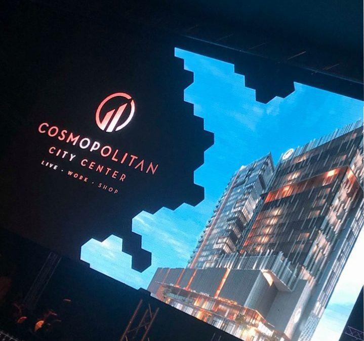 Inauguración de edificio Cosmopolitan